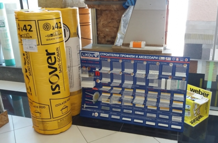 Строителни продукти на Isover