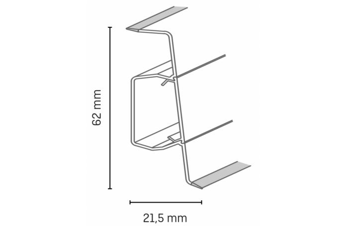 Схема на перваз SLK 60 Q