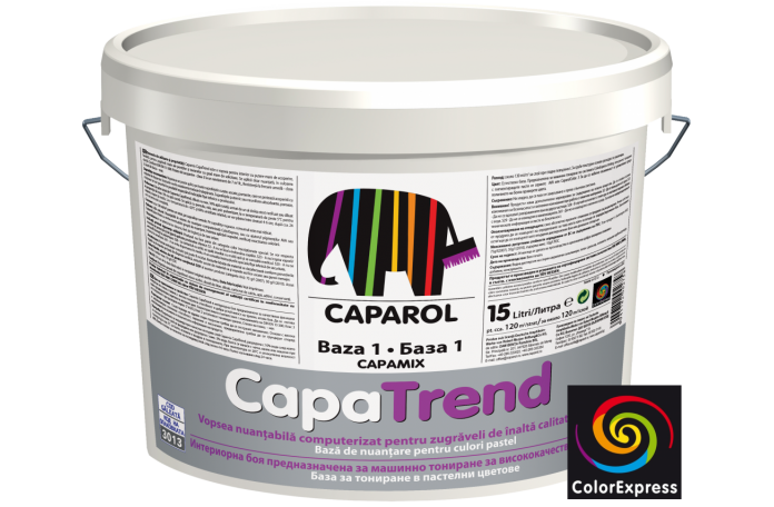 CapaTrend 2,5л - Вододисперсионна матова боя