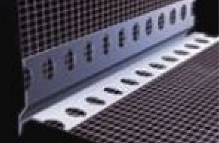 Webertherm PVC000004 ПВЦ водооткапващ ъгъл с мрежа 2,5м