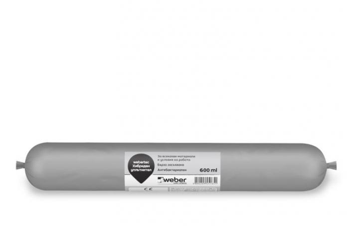Webertec FW45<br/>Хибриден уплътнител сив, 600мл