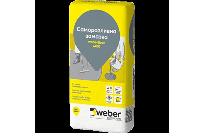 Weberfloor L4010<br/>Саморазливна подова замазка, 25кг.