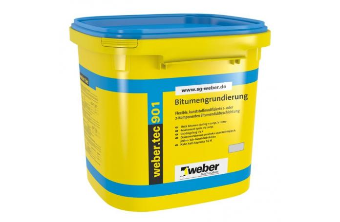 Webertec 901 - битумен грунд 5л