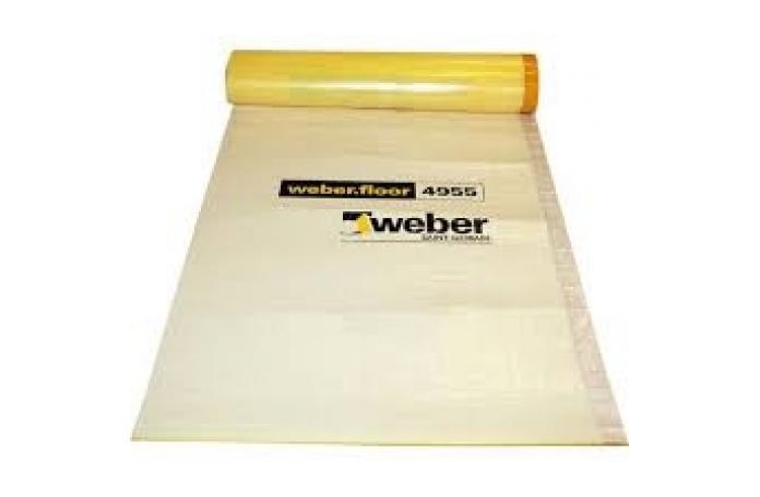 weber.floor 4955<br/>Тънка шумоизолационна мембрана, 30 м