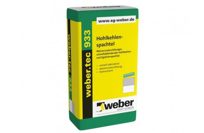 Webertec 933, М601 Водоплътен ремонтен разтвор, 25кг