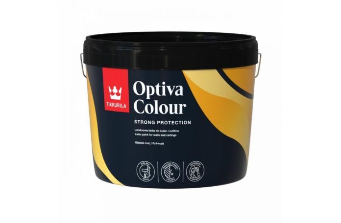 OPTIVA COLOUR C база Латекс пълен мат 0,9 л