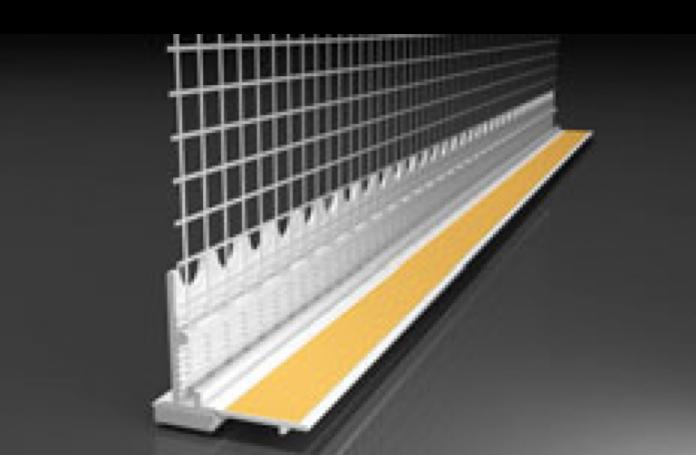 Webertherm Профил за прозорци стандарт 3D PVC00028, 2,4м