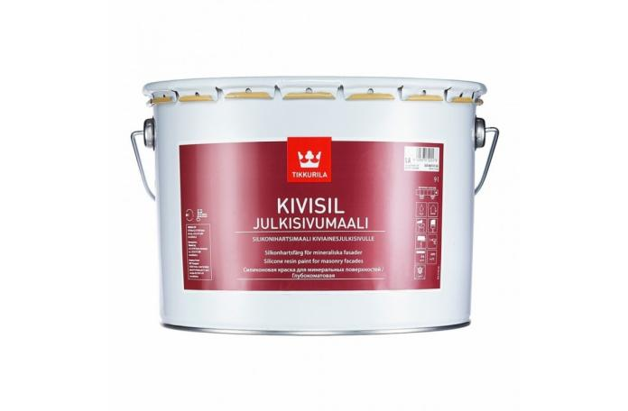 KIVISIL Силиконова фасадна боя, база LC 2,7 л