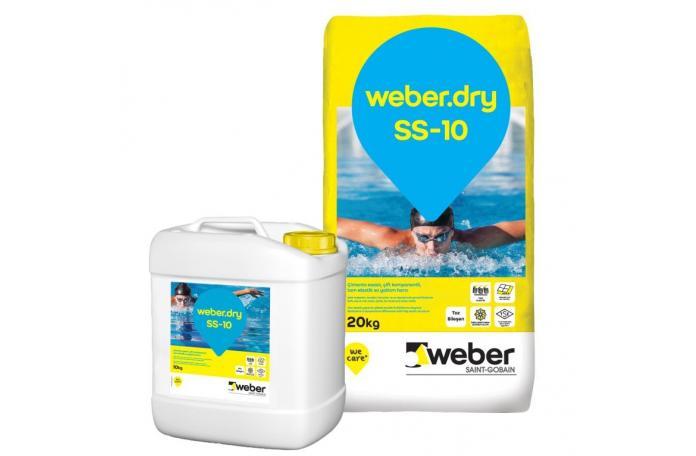 Weberdry SS-10, FW601 30кг двукомпонентна силно еластична хидроизолация
