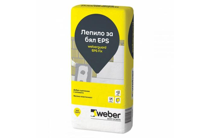 Weberguard 500P EPS Fix Лепило за бял EPS, 25кг торба