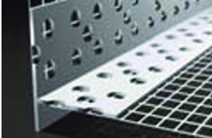 Webertherm 9605 ПВЦ водооткапващ ъгъл с мрежа за скрит монтаж 10х10см, 2,5м