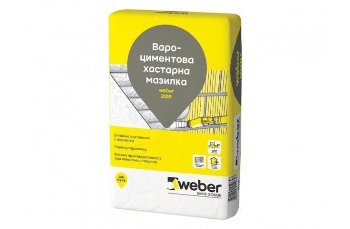 Weber 201P<br/>Хастарна мазилка, 25кг