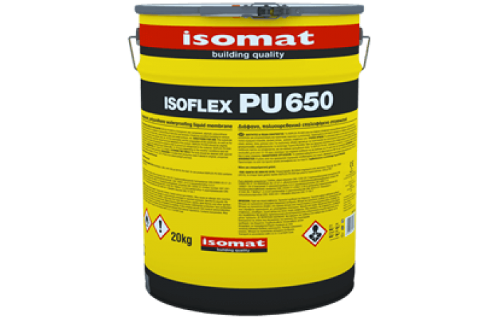 Изофлекс ПУ 650 - Прозрачна мембрана за хидроиз. 20кг