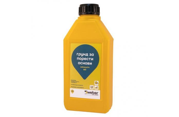Weber.prim 801 FP17</br/>30л грунд за хидроизолация