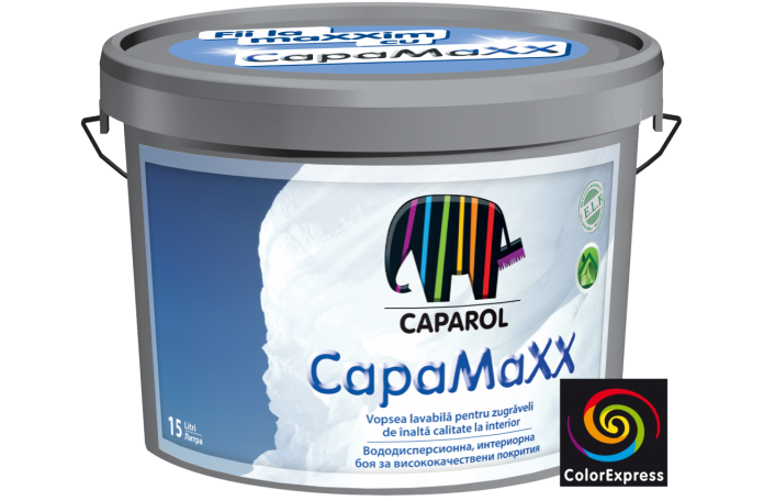 CapaMaxx 10л - вододисперсионна матова боя