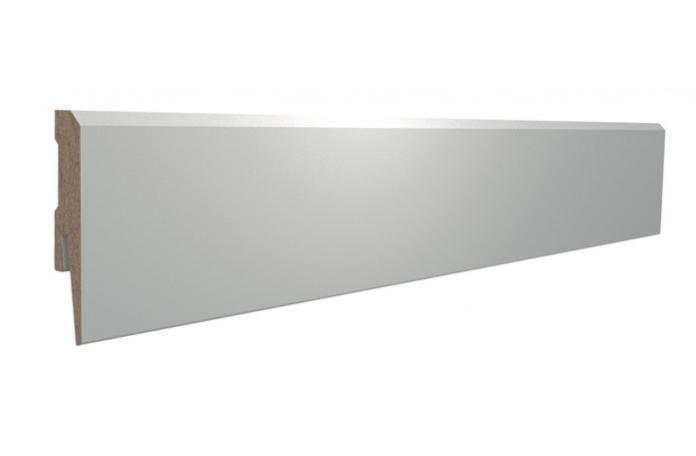 MDF перваз Ретро P131 15x80x240 бял