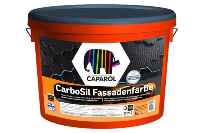 Екстериорна висококачествена боя Карбосил Б1, 10л