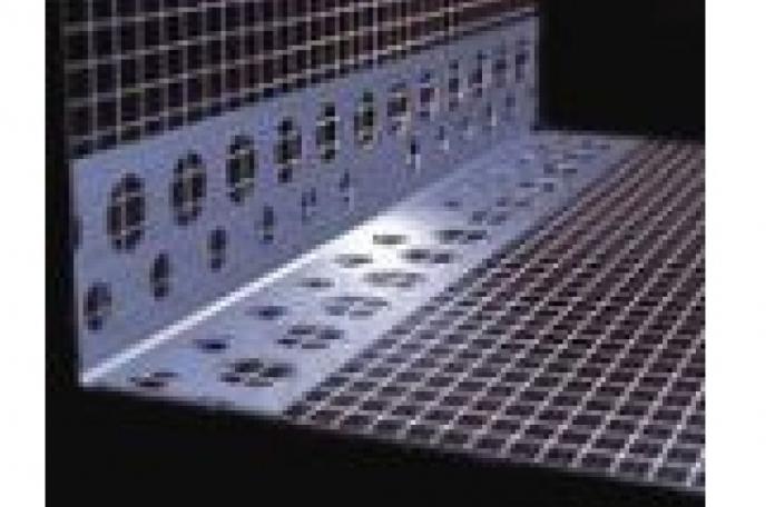 Webertherm PVC00005 (8620) ПВЦ ъгъл с мрежа 10х15см, 2,5м
