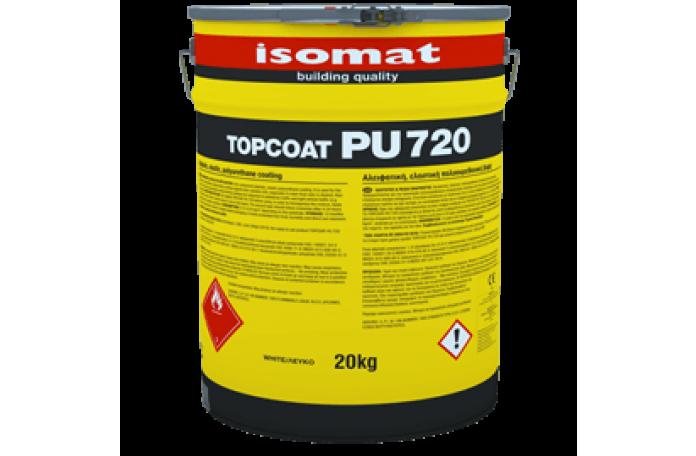 Топкоут ПУ 720 - алифатно еластично покритие бял 1кг