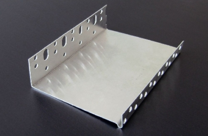 Webertherm COKL05000 Алуминиев цокълен профил с водооткап 2,5м, 50мм