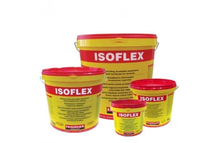 Изофлекс - еластична хидроизолац. замазка - 15кг.