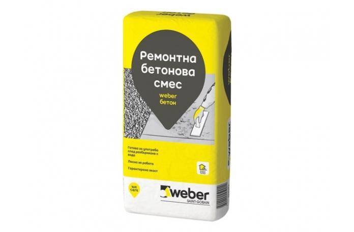 Weber beton B100<br/>Ремонтна бетонова смес, 25кг