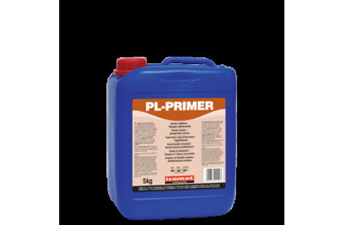 Грунд за мазилки ПЛ-праймър, защитаващ от бързо съсъхване - 5 кг.