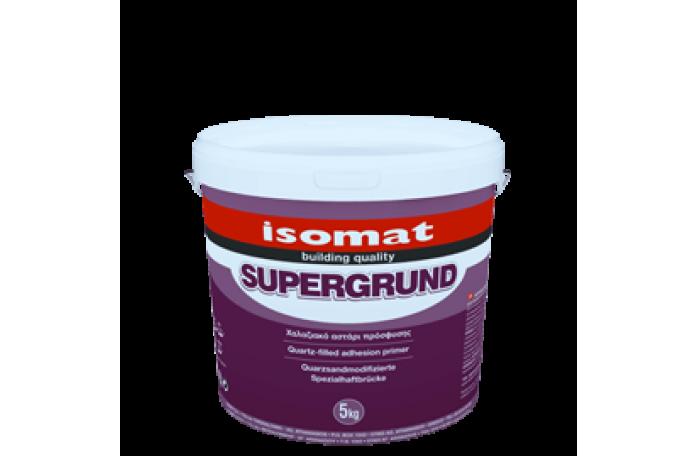 Изомат Супергрунд - грунд за подобряване на адхезията, 5кг