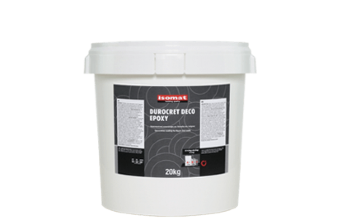 Дурокрет-Деко Епокси декоративно цименто-епоксидно покритие бяло, 20кг