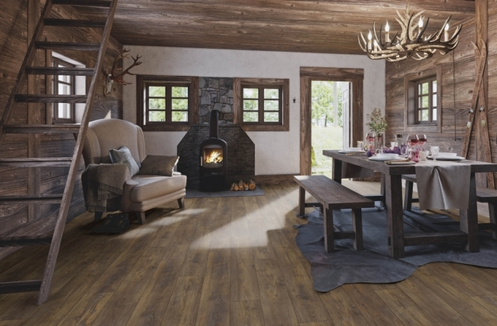 Ламиниран Паркет на Кронотекс, My Floor 10 мм, Серия Chalet (1005)