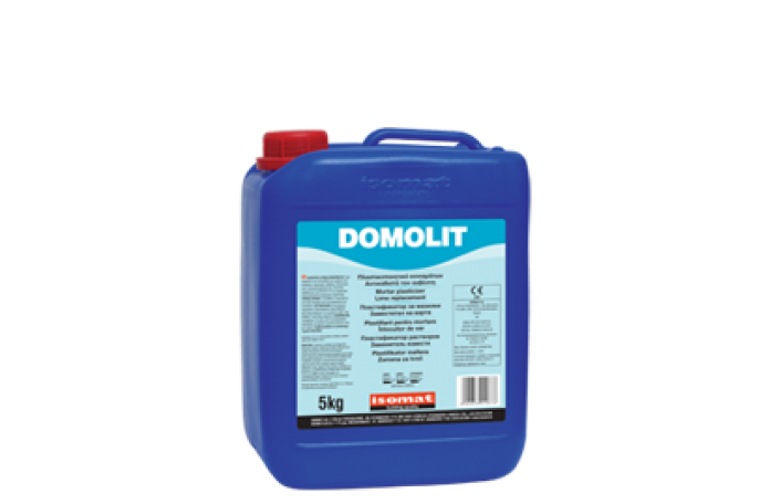 Домолит - пластификатор за замазки и мазилки, 5кг