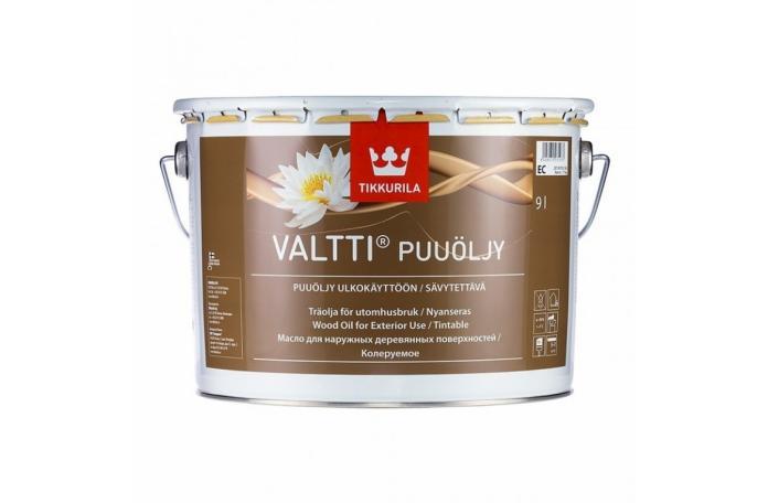 VALTTI WOOD OIL EC 9 L Масло за градинска мебел и тераса