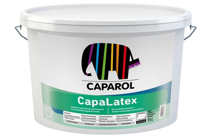 Интериорна висококачествена латексова боя мат Капалатекс Б3, 2,35л