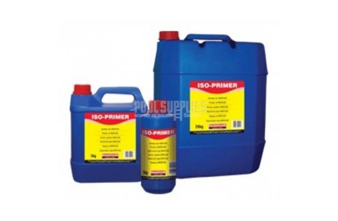 ISO-PRIMER - грунд за еластична хидроизолция, бял - 5кг.