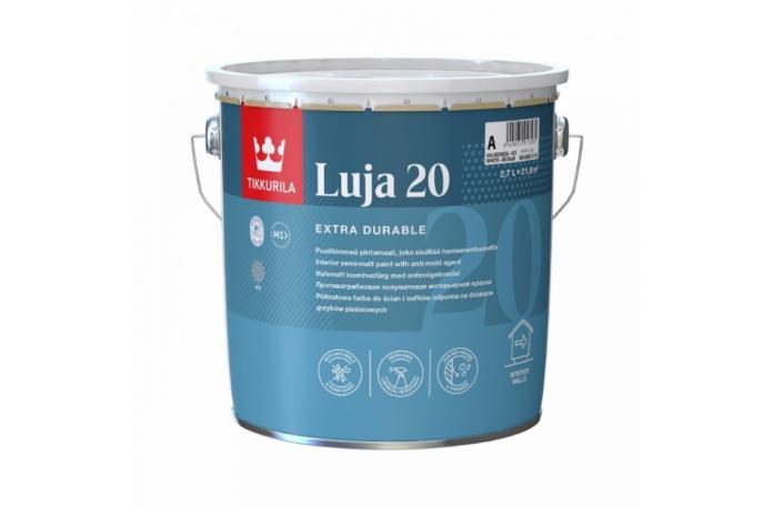LUJA 20 A 9L Висококачествен латекс полумат