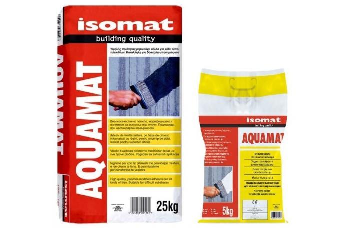 Аквамат - циментова хидроизолация - 25кг