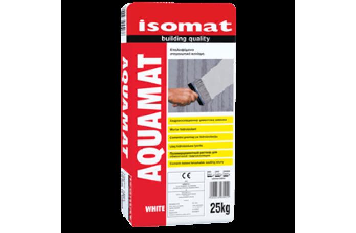 AQUAMAT - бяла циментова хидроизолация 25кг.