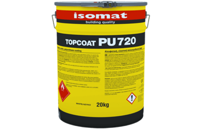 Топкоут ПУ 720 - алифатно еластично покритие бял 5кг