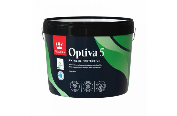 OPTIVA MATT 5 C база Латекс мат 9 л