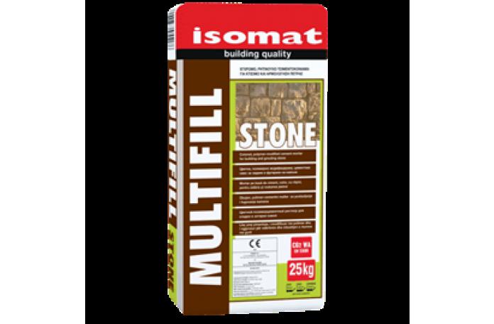 Мултифил Стоун - 25кг <br/> Цветна циментова смес за зидане и фугиране на камъни CG2 WA