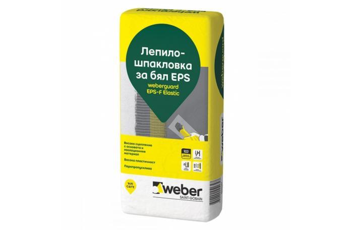 Weberguard 510P EPS-F Elastic Лепило-шпакловка за бял EPS, 25кг торба