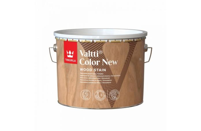 VALTTI COLOR NEW 0,9 L Масло за дърво - фасада
