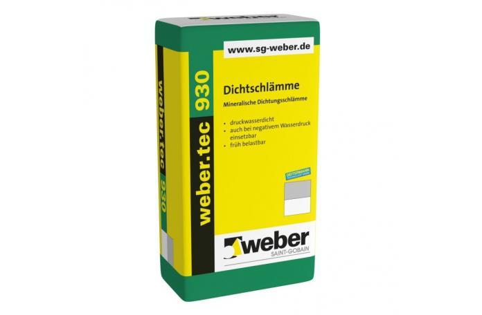 Webertec 930 - циментова хидроизолация 25кг