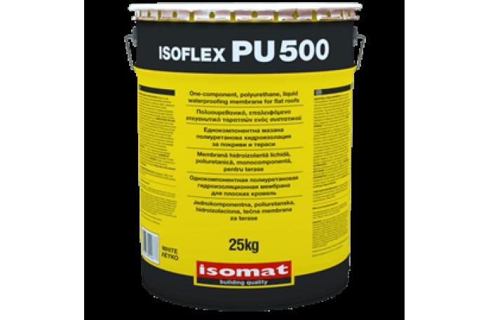 ISOFLEX-PU 500 - полиуретанова хидроизолация, бял 25кг.