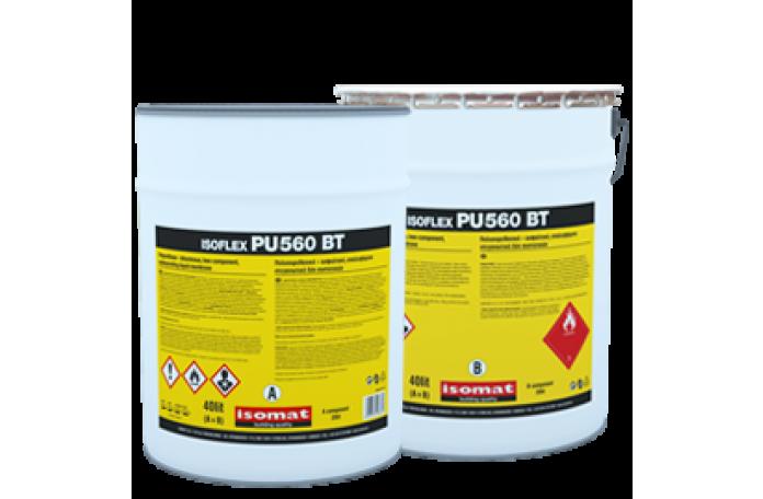 ISOFLEX-PU 560 BT - битумно-полиур. хидр., черен - 10л.