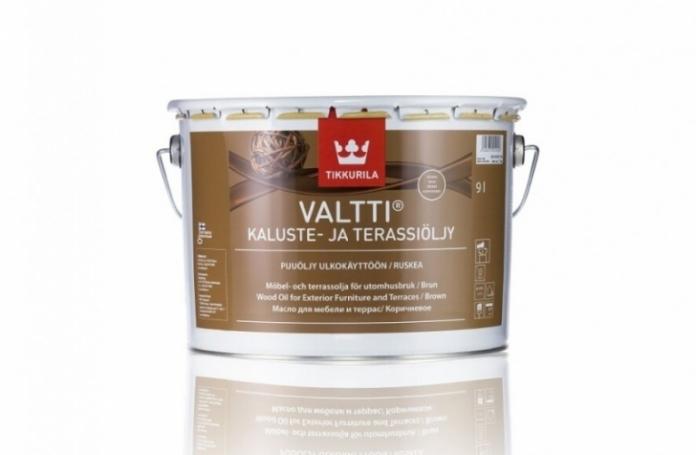 Valtti Terrace Oil Масло за градинска мебел и тераса - кафяв мат
