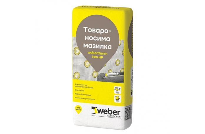 Weber 200P<br/>Товароносима мазилка, 25кг