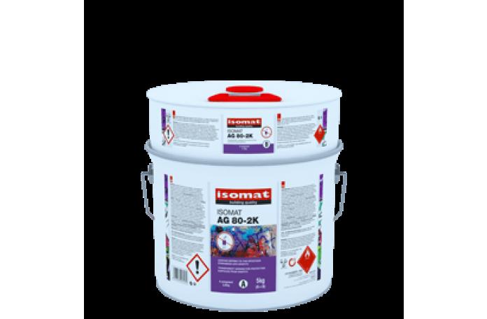 Изомат AG 80 2K полиуретанов лак, 5кг