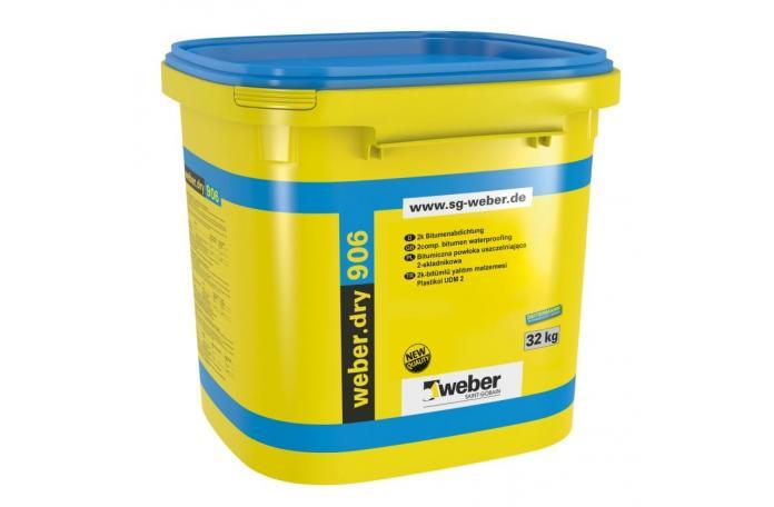 Weberdry 906, FW07 двукомпонентна битумна хидроизолация 32кг