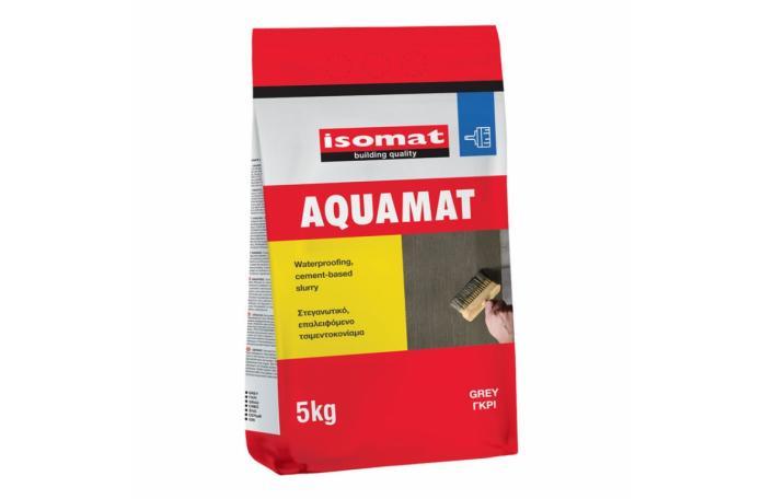 AQUAMAT - сива циментова хидроизолация - 5кг.